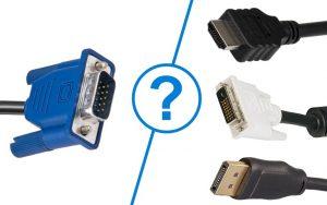 Comment brancher un écran VGA sur HDMI?